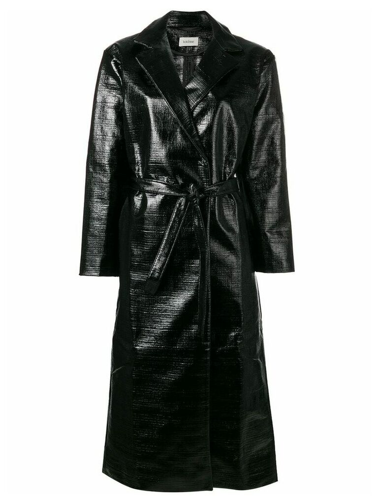 Toteme belted trench coat - Black