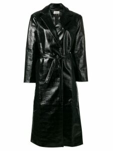 Totême belted trench coat - Black
