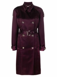 Michael Michael Kors belted double-breasted coat - Red