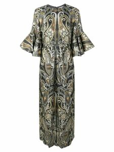 Chloé lurex paisley dress - Black