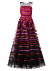 Sachin & Babi Zosia tulle gown - Black