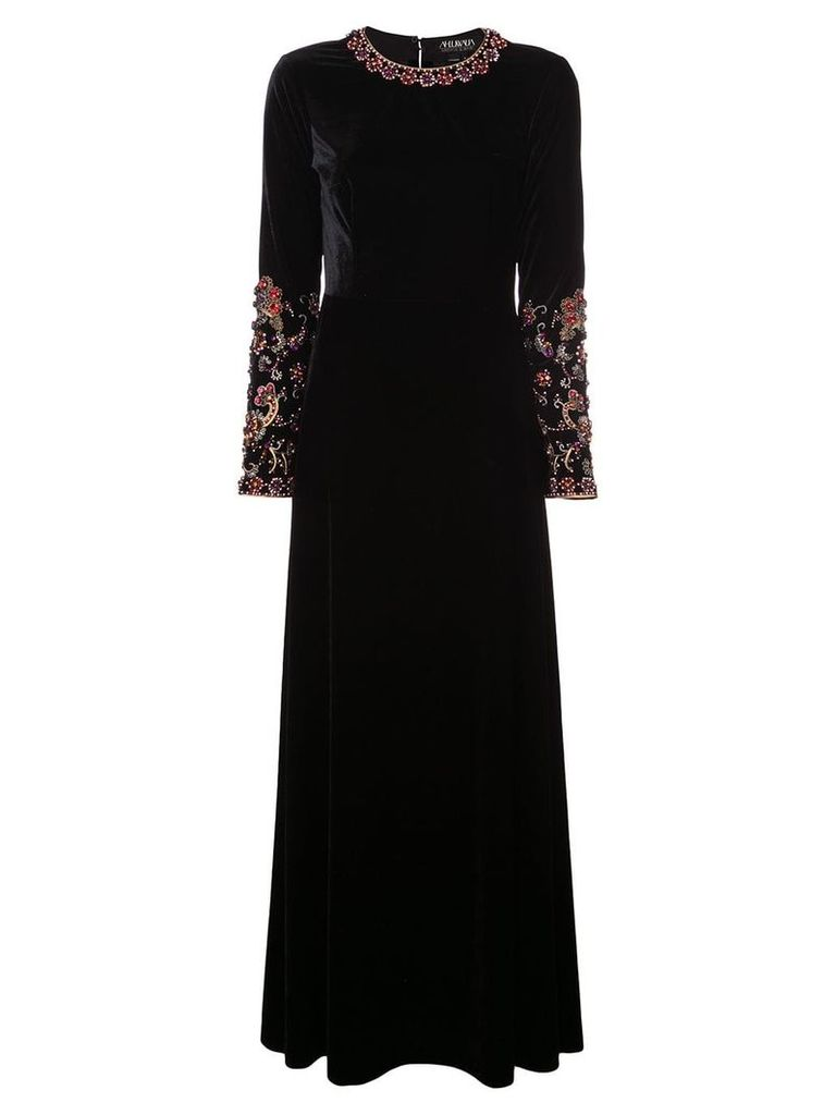 Sachin & Babi Kasaam velvet dress - Black