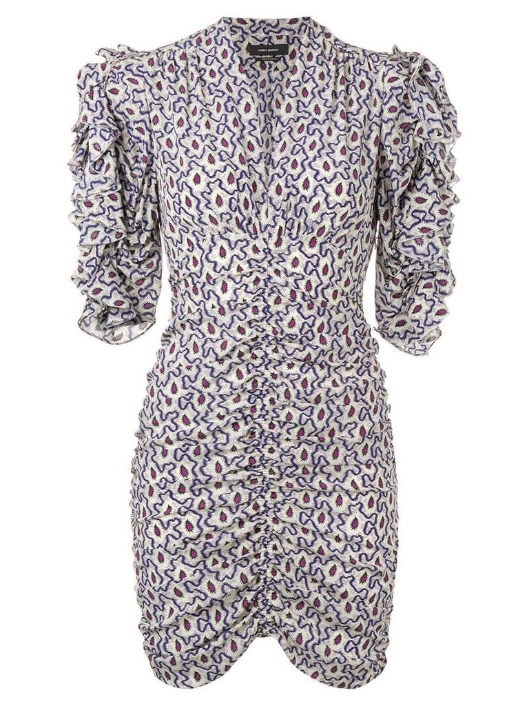 Isabel Marant paisley dress - White
