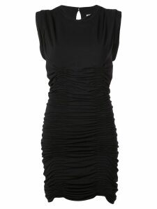 Alexander Wang ruched formal dress - Black