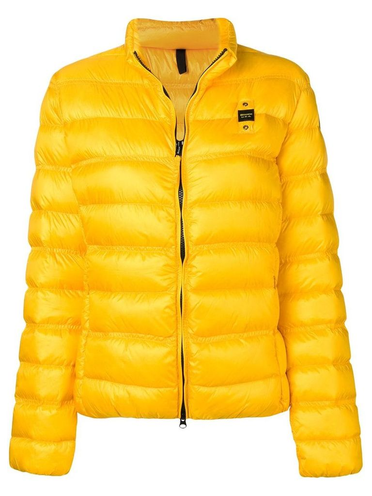 Blauer short padded jacket - Yellow