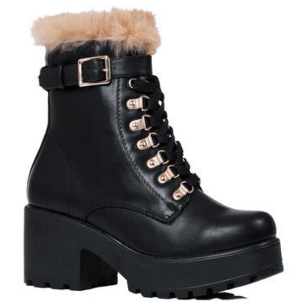 Spylovebuy  Tastie  women's Low Ankle Boots in Black