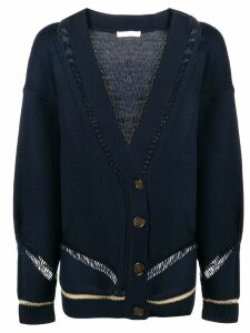 See By Chloé knit V-neck cardigan - Blue