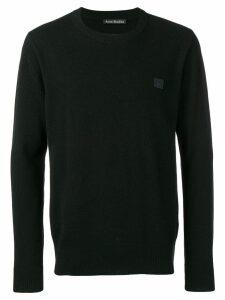 Acne Studios Nalon Face jumper - Black