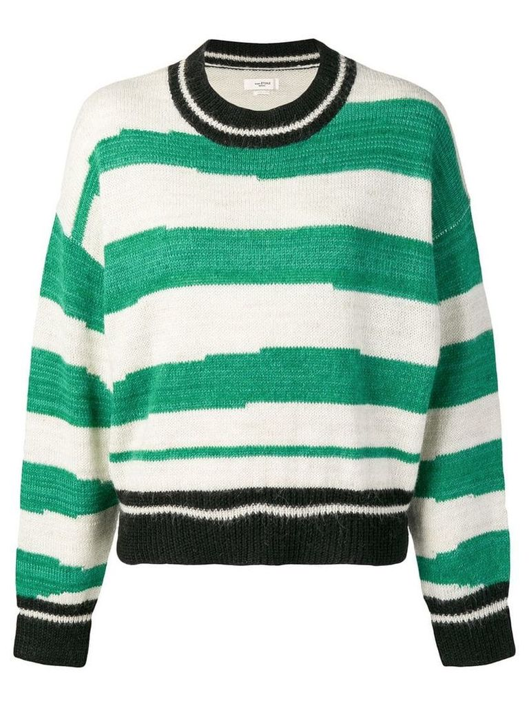 Isabel Marant Étoile striped jumper - Green