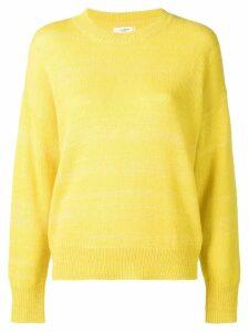 Isabel Marant Étoile crew neck jumper - Yellow