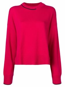 Pringle Of Scotland loose-fit cashmere sweater - Pink