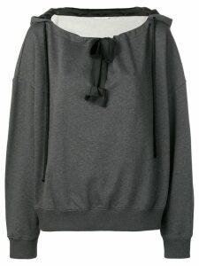 Dorothee Schumacher bow detail jumper - Grey
