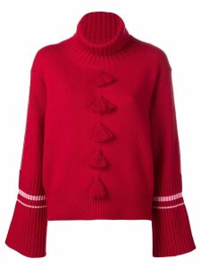 Dorothee Schumacher tassel detail jumper - Red
