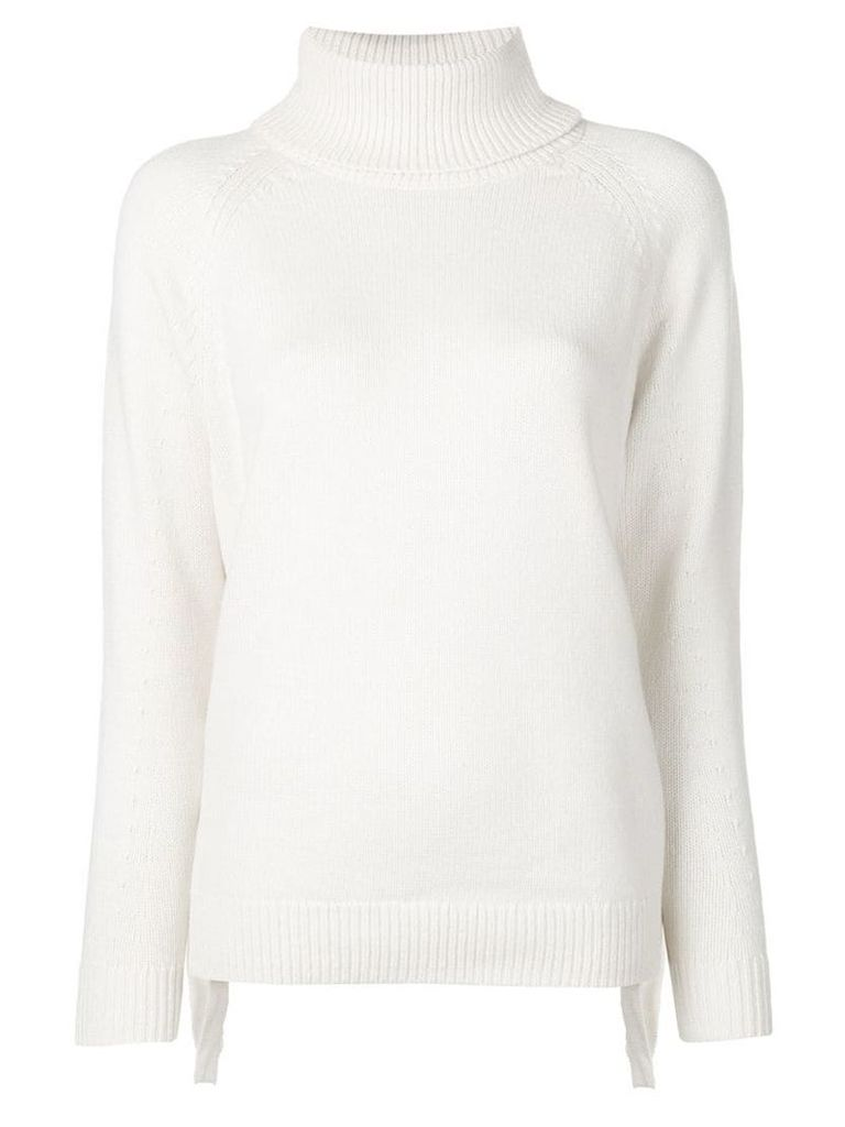 Michael Michael Kors roll-neck fitted sweater - Neutrals