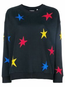 Chinti & Parker star embroidered sweater - Blue