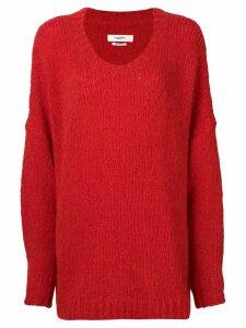 Isabel Marant Étoile long-sleeve flared sweater