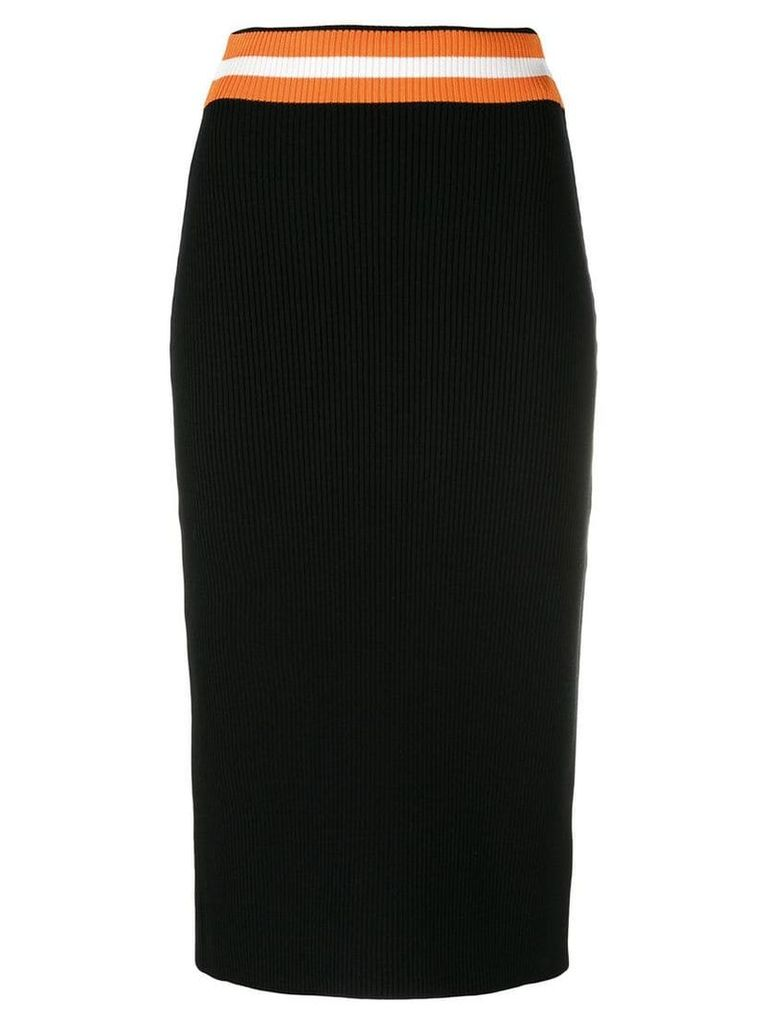 Calvin Klein knitted pencil skirt - Black