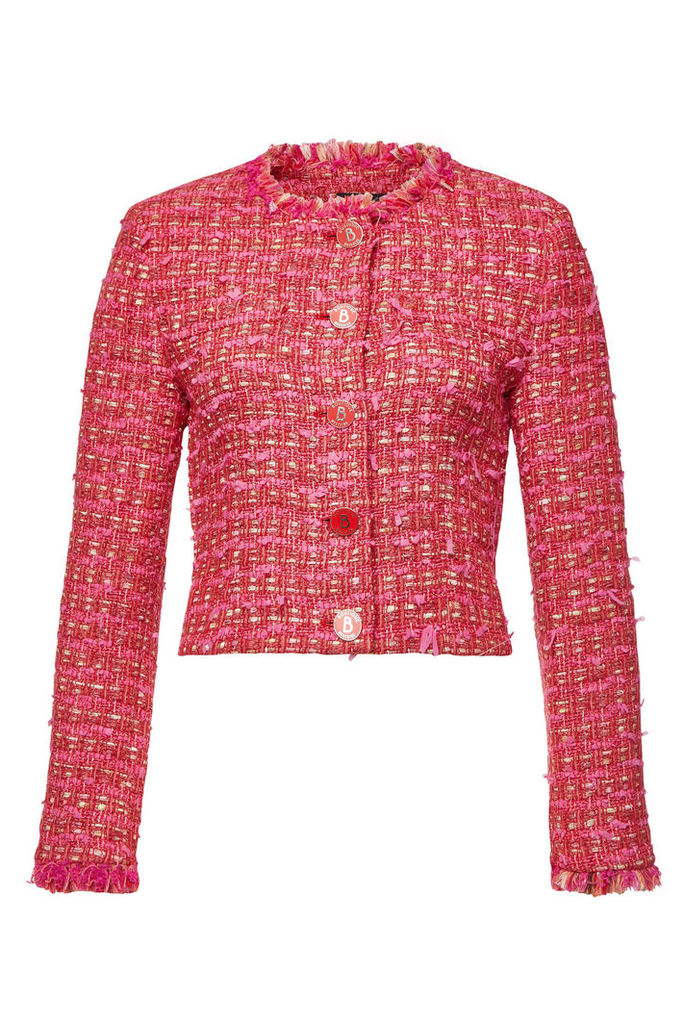 Boutique Moschino Tweed Blazer with Cotton