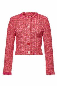 Boutique Moschino Tweed Blazer with Cotton
