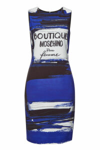 Boutique Moschino Printed Mini Dress