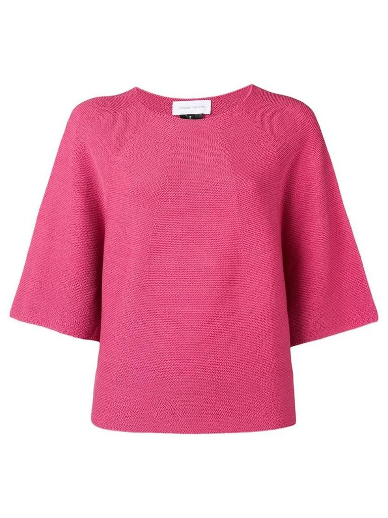 Christian Wijnants knitted T-shirt - Pink