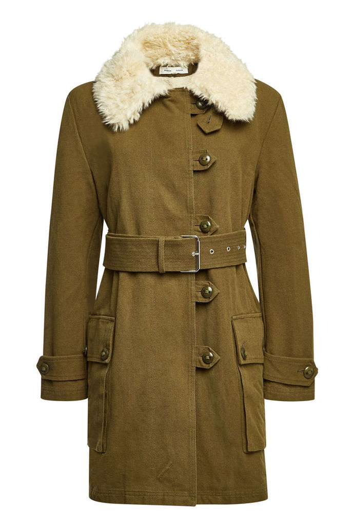 PSWL Cotton Coat with Belt