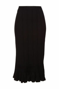 Proenza Schouler Knit Pencil Skirt with Cotton and Silk