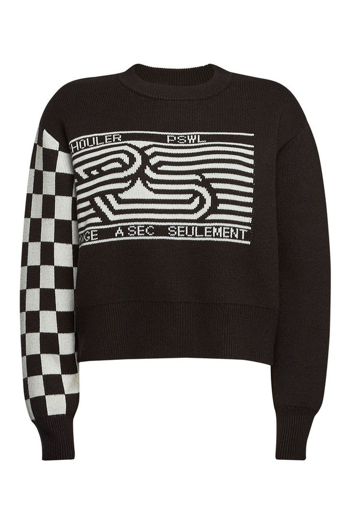 PSWL Pullover with Cotton and Wool