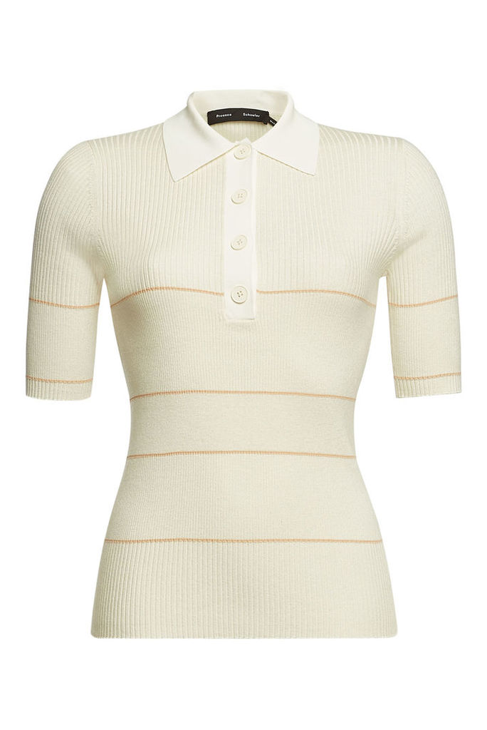 Proenza Schouler Knit Top with Silk and Cashmere