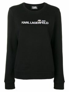 Karl Lagerfeld Ikonik & logo sweatshirt - Black