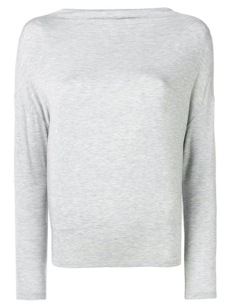 Vince boat neck top - Grey
