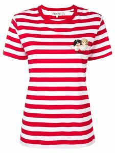 Fiorucci striped cherub T-shirt - Red