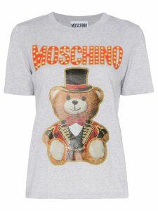 Moschino graphic print cotton T-shirt - Grey