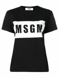MSGM logo T-shirt - Black