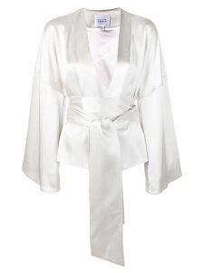 Galvan belted kimono - Neutrals