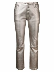 Zadig & Voltaire cropped trousers - Grey