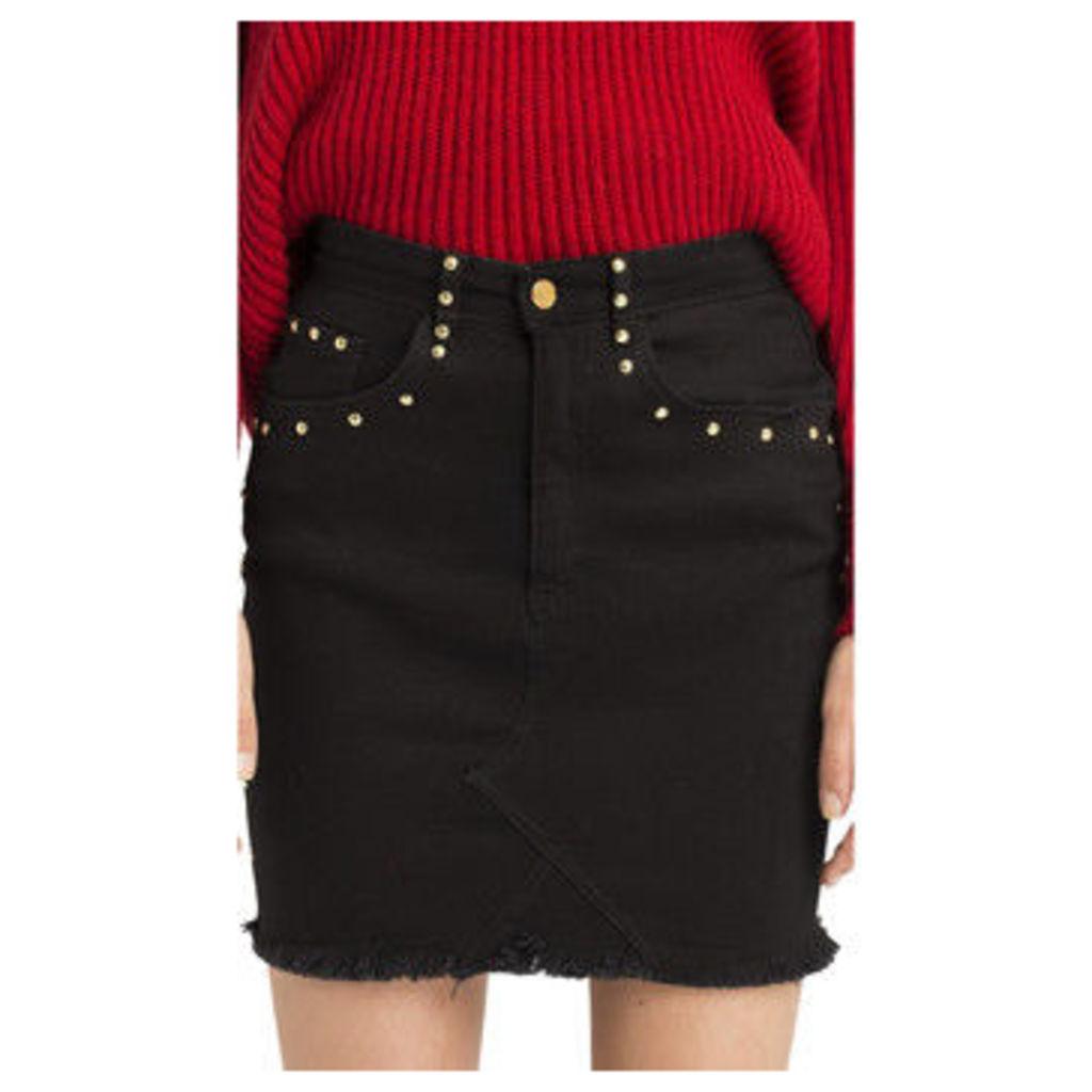Cuplé  -  women's Skirt in Black