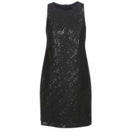 Lauren Ralph Lauren  SEQUINED SLEEVELESS DRESS  women's Dress in Black