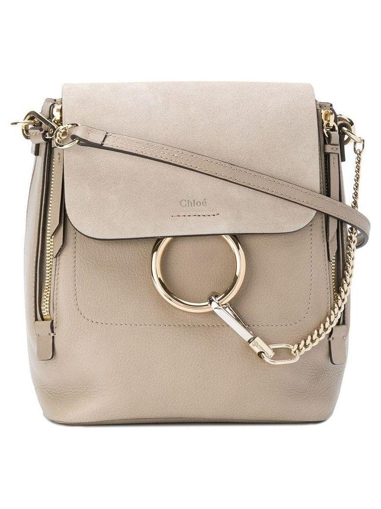 Chloé Faye small backpack - Grey