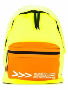 Ports V colour-block backpack - Yellow