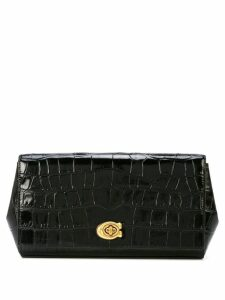 Coach Alexa Turnlock clutch - Black
