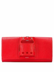 Perrin Paris Le Cabriolet clutch - Red