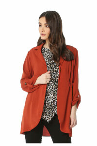 Rever Collar Casual Jacket