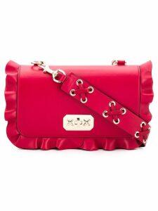 Red Valentino RED(V) ruffle-trimmed shoulder bag