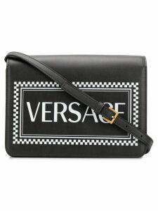 Versace 90s Vintage Logo shoulder bag - Black