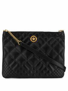 Versace quilted shoulder bag - Black