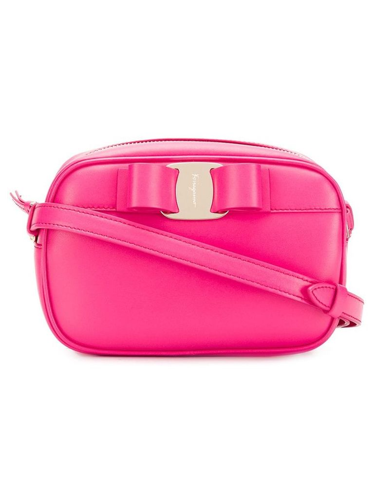 Salvatore Ferragamo Vara bow shoulder bag - Pink