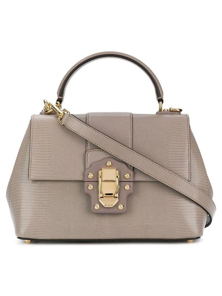 Dolce & Gabbana small Lucia bag - Grey