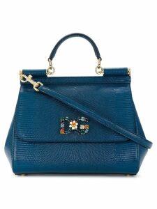 Dolce & Gabbana Jewelled Sicily bag - Blue