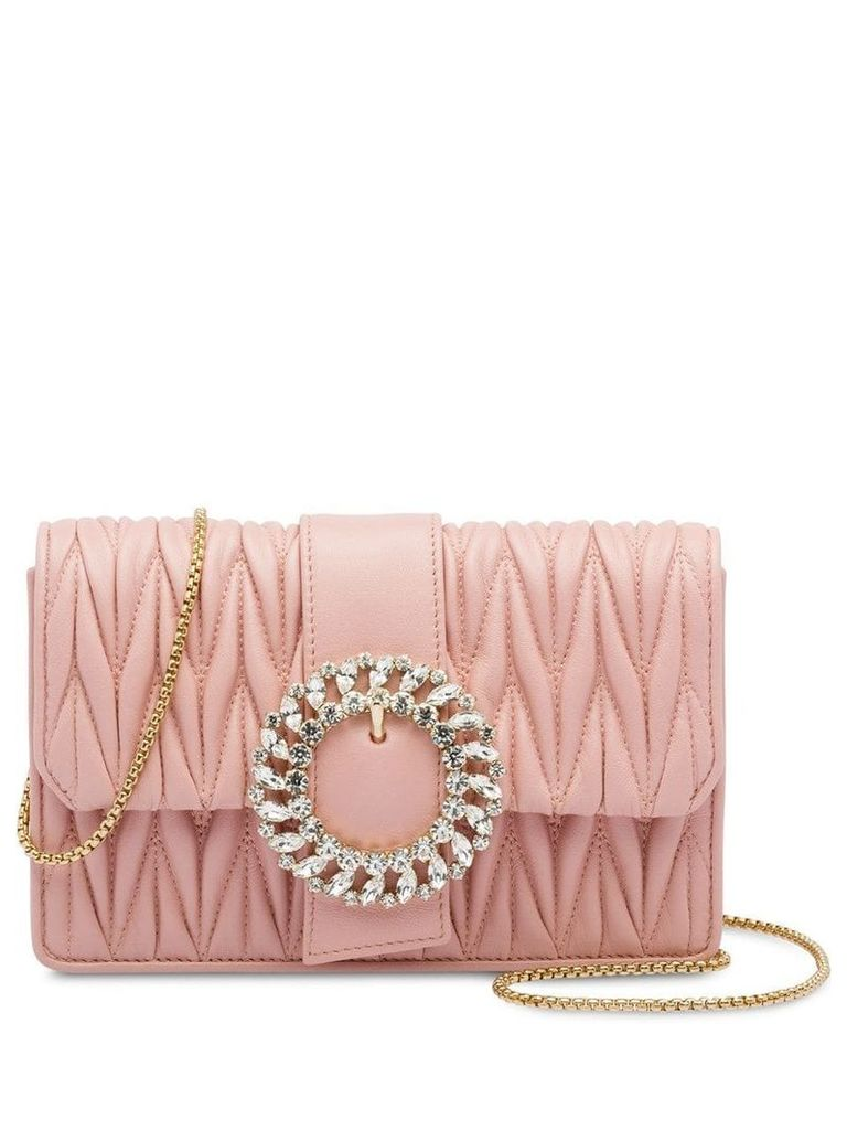 Miu Miu My Miu leather bag - Pink